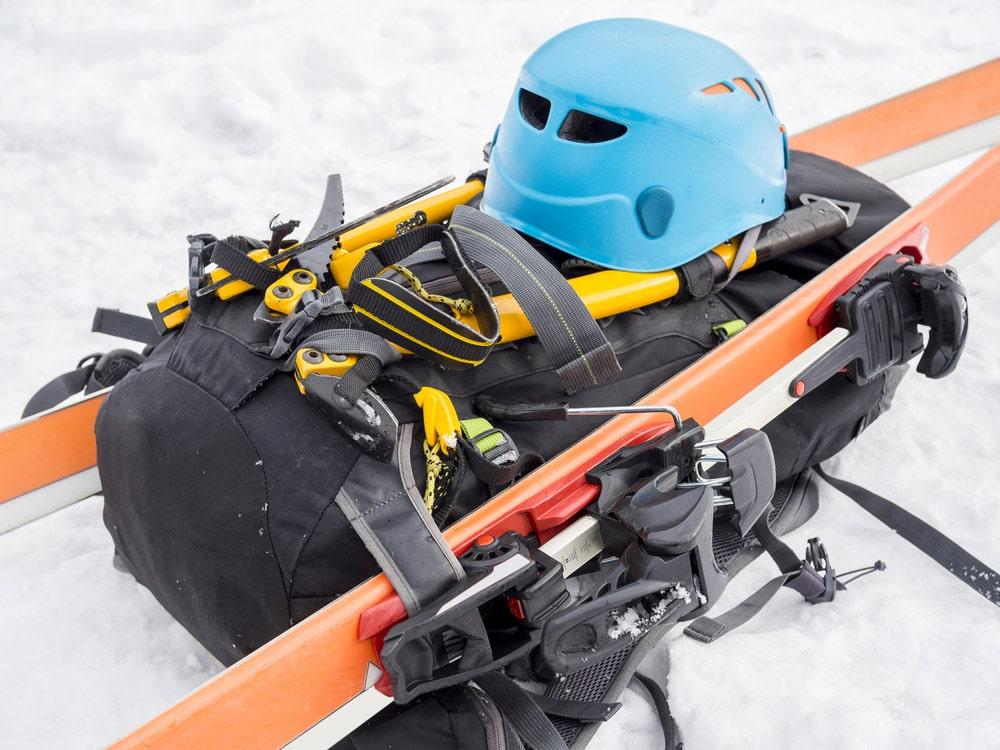 Ski-backpack